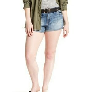 STS Blue Double Roll High Rise Denim Shorts